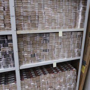 Изъятые таможней сигареты. Автор: Прокуратура Эстонии
